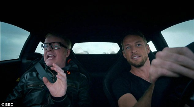 top gear Chris Evans2